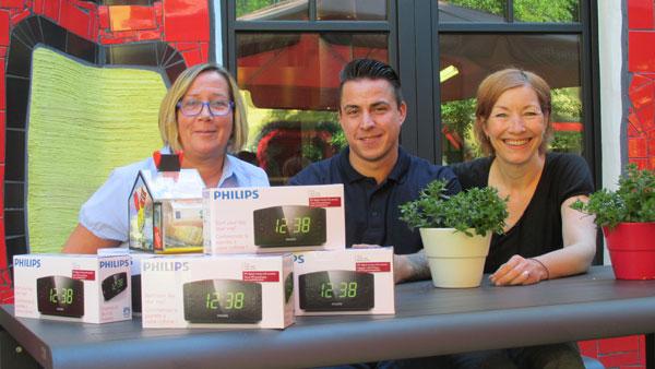 Spendenübergabe des Pflegedienst Sonnenblume an die McDonalds Kinderhilfe Essen