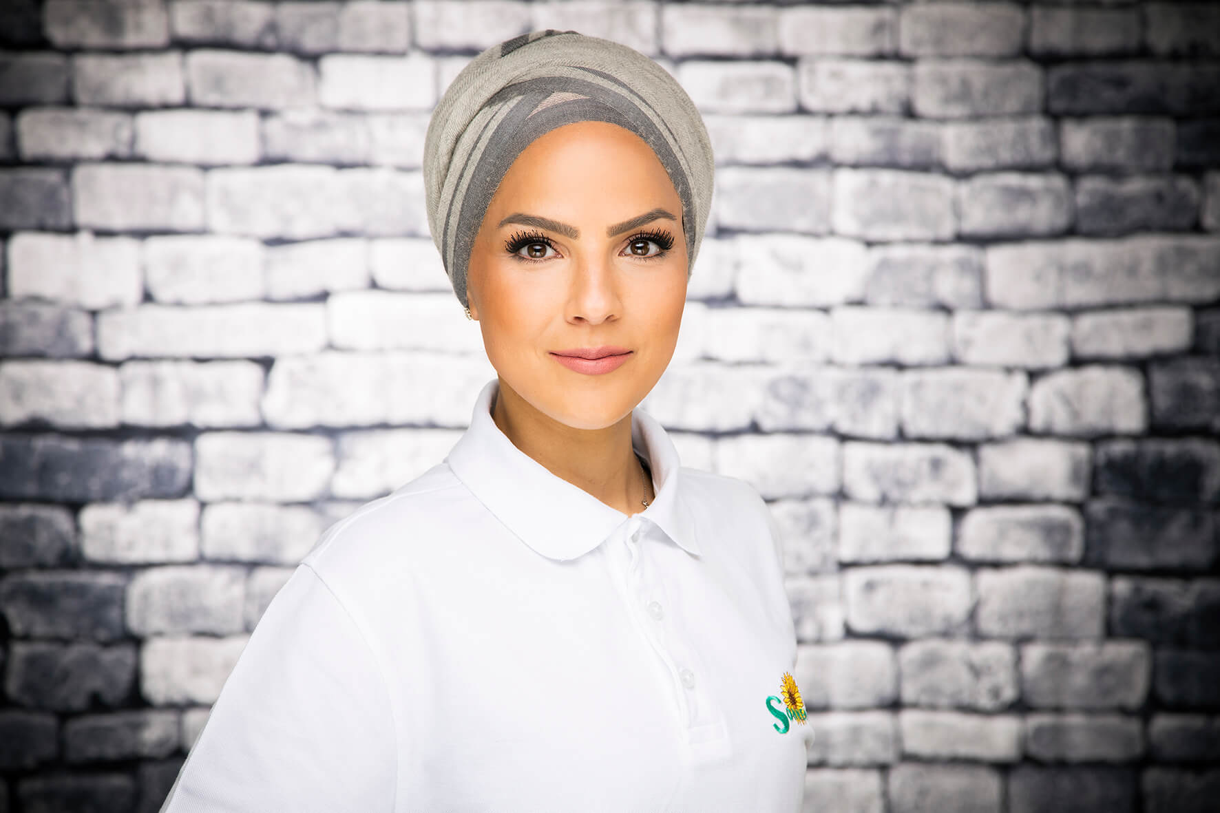 Mitarbeiterin Amal Omerirat bei dem Pflegedienst Sonnenblume