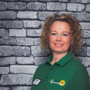 Mitarbeiterin Dagmar Duvinage in der Tagespflege Sonnenblume Gelsenkirchen
