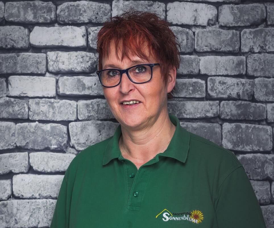 Mitarbeiterin Katharina Hintz-Golon in der Tagespflege Sonnenblume Gelsenkirchen