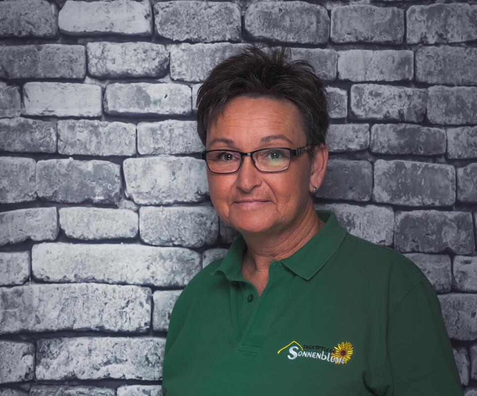 Mitarbeiterin Martina Färber in der Tagespflege Sonnenblume Gelsenkirchen