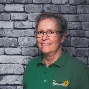 Mitarbeiterin Monika Lüdecke in der Tagespflege Sonnenblume Essen