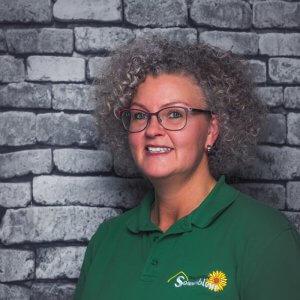 Mitarbeiterin Simone Flach in der Tagespflege Sonnenblume Gelsenkirchen