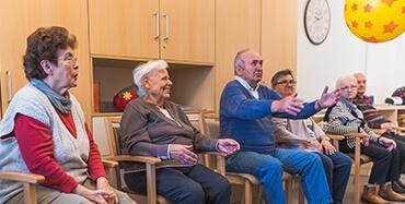 Senioren in Gelsenkirchen bei der Freizeitgestaltung