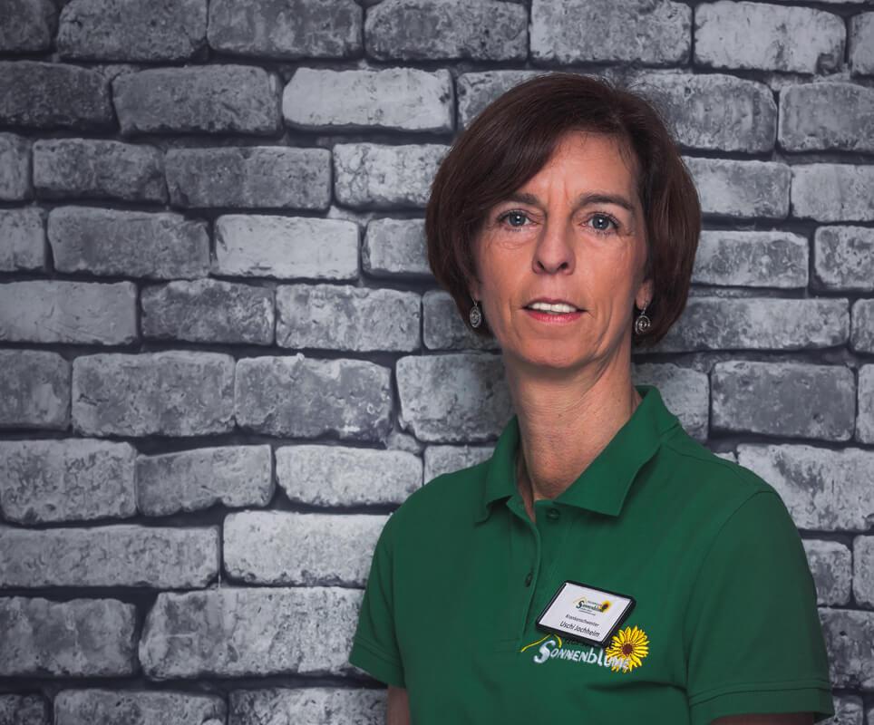 Mitarbeiterin Ursula Jochheim in der Tagespflege Sonnenblume Gelsenkirchen