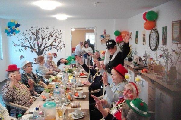 Karneval in den Tagespflegen